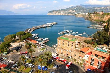 Sorrento and its coastline